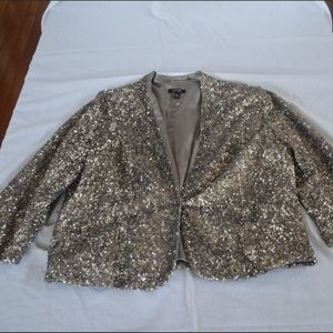 Silver Sequined Jacket